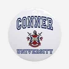 CONNER University Ornament (Round)
