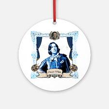 Oscar Wilde Dorian Gray Round Ornament