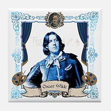 Oscar Wilde Dorian Gray Tile Coaster