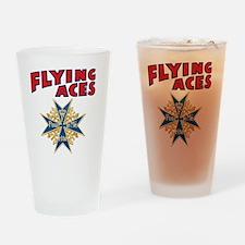 FAC_logo_ONE_4 Drinking Glass