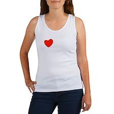 love_white-all Women's Tank Top