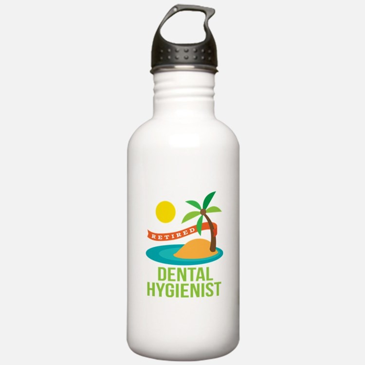 Retired Dental Hygienist Water Bottle