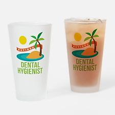 Retired Dental Hygienist Drinking Glass