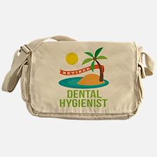 Retired Dental Hygienist Messenger Bag