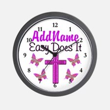 EASY DOES IT Wall Clock
