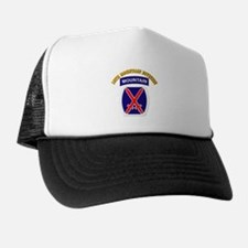 SSI - 10th Mountain Division with Text Trucker Hat