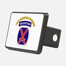 SSI - 10th Mountain Division with Text Hitch Cover