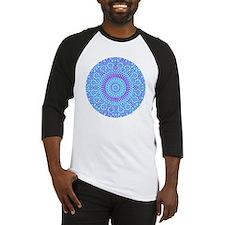 spiritual meditation mandala (aqua Baseball Jersey