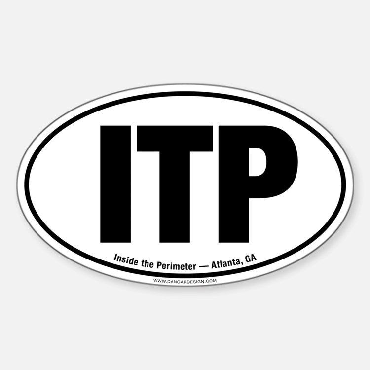 ITP Oval Decal