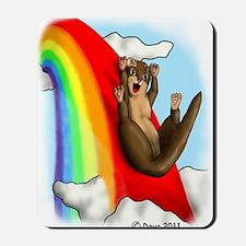 Rainbow Slide Mousepad