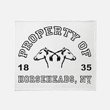 HORSEHEADS, NY Throw Blanket