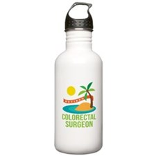 Retired Colorectal Surgeon Water Bottle