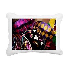 NewOrleansMardiGrasMaskB Rectangular Canvas Pillow
