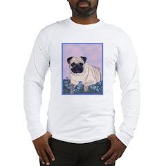 Pensive Pug Long Sleeve T-Shirt