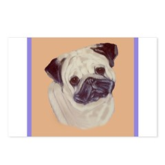 Typical Chinese Pug Postcards (Package of 8)