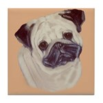 Typical Chinese Pug Tile Coaster