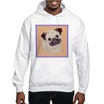 Typical Chinese Pug Hooded Sweatshirt