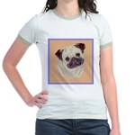 Typical Chinese Pug Jr. Ringer T-Shirt