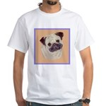 Typical Chinese Pug White T-Shirt