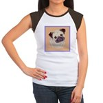 Typical Chinese Pug Women's Cap Sleeve T-Shirt