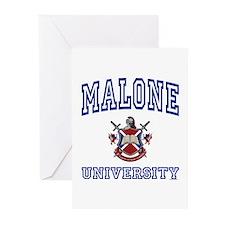 MALONE University Greeting Cards (Pk of 10)
