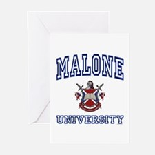 MALONE University Greeting Cards (Pk of 10)