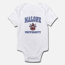 MALONE University Infant Bodysuit