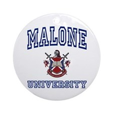 MALONE University Ornament (Round)