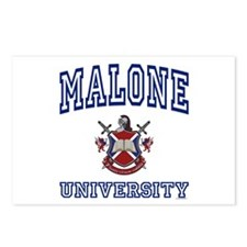 MALONE University Postcards (Package of 8)