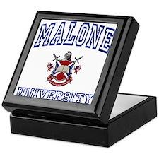 MALONE University Keepsake Box