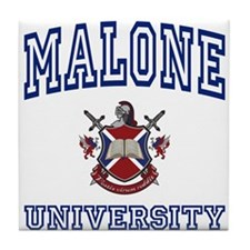 MALONE University Tile Coaster