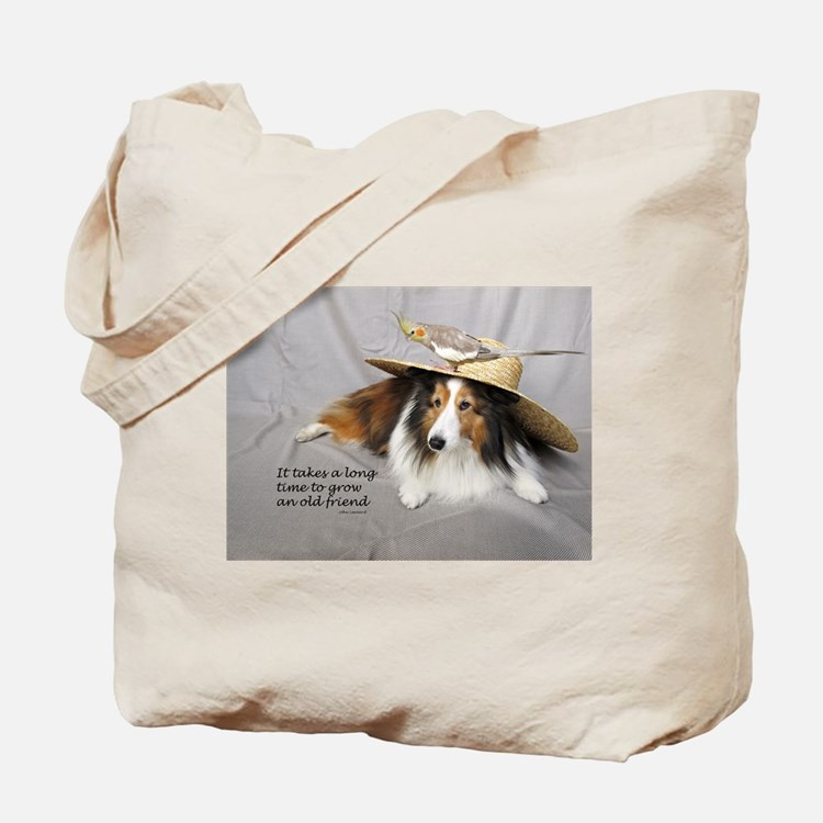 It takes a long time to grow an old friend Tote Ba