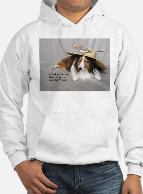 It takes a long time to grow an old friend Hoodie