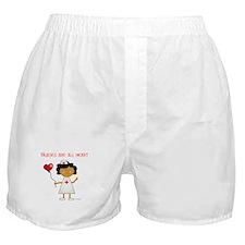 Nurses are all heart Boxer Shorts