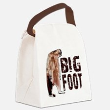 Woodbooger Bigfoot - Gone Squatch Canvas Lunch Bag