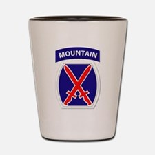 SSI - 10th Mountain Division Shot Glass