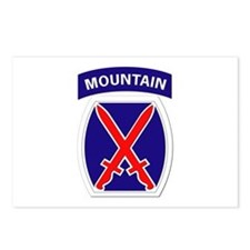 SSI - 10th Mountain Division Postcards (Package of