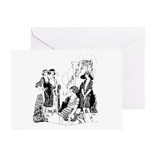Vintage Ladies Greeting Card