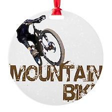 Mountain_Bike2 Round Ornament