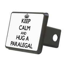 Keep Calm and Hug a Paralegal Hitch Cover