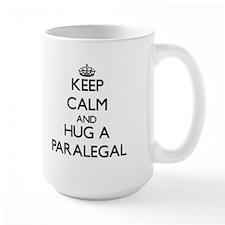 Keep Calm and Hug a Paralegal Mugs