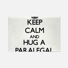Keep Calm and Hug a Paralegal Magnets