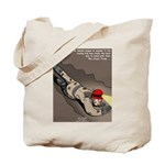 Spelunking Minister Tote Bag