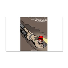 Spelunking Minister Wall Decal