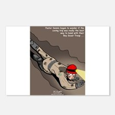 Spelunking Minister Postcards (Package of 8)
