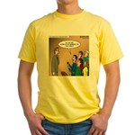 Sermon Tweeting Yellow T-Shirt