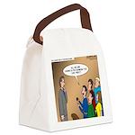 Sermon Tweeting Canvas Lunch Bag