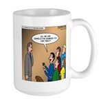Sermon Tweeting Large Mug