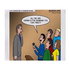 Sermon Tweeting Throw Blanket