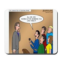 Sermon Tweeting Mousepad